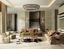 国外优雅大气的客厅效果图欣赏