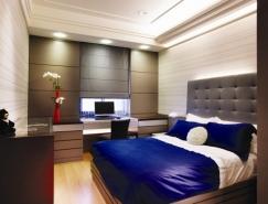 低调的奢华:现代公寓设计欣赏