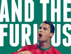 世界杯頂級球星海報設計欣賞