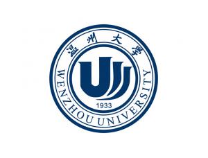 大学校徽系列:温州大学标志矢量图