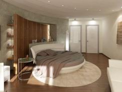 27款浪漫圆床设计欣赏