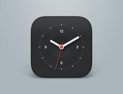 时钟图标PSD素材