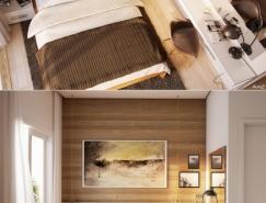 25个现代温馨的卧室设计欣赏