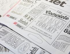 Tobias Hall创意手绘字体设计