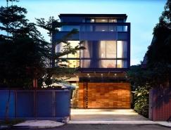 新加坡开放式空间的现代住宅设计