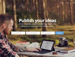 30個使用大背景圖片網頁設計欣賞