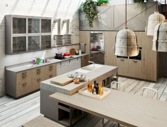 Michele Marcon: Loft风格厨房皇冠新2网