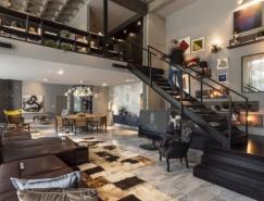 开放式空间的现代Loft住宅设计