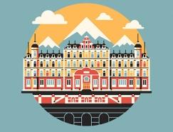 DKNG Studios:30个流行文化图标插画设计