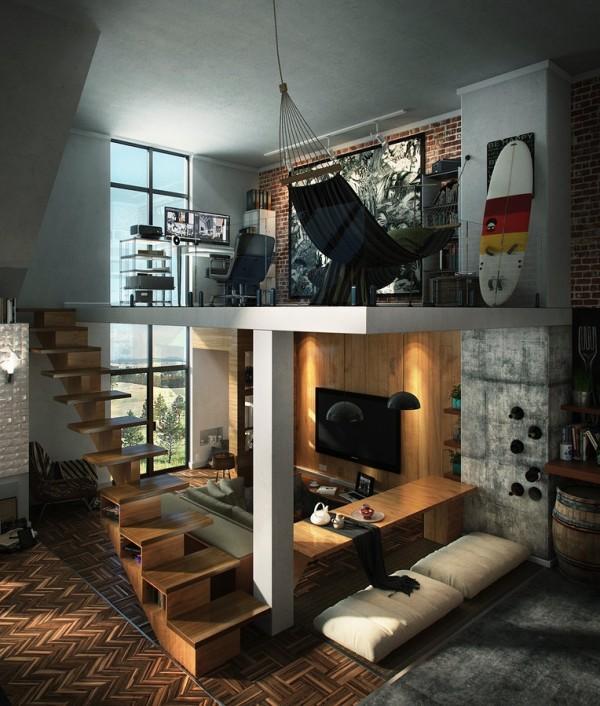 国外Loft阁楼设计欣赏