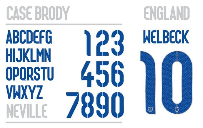 耐克 为世界杯设计字体 - 设计之家
