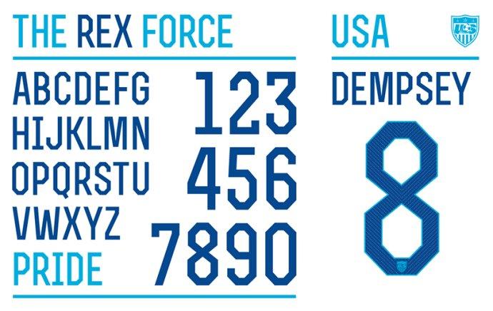 耐克 为世界杯设计字体