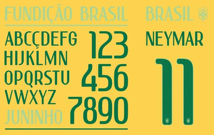 耐克为世界杯设计字体