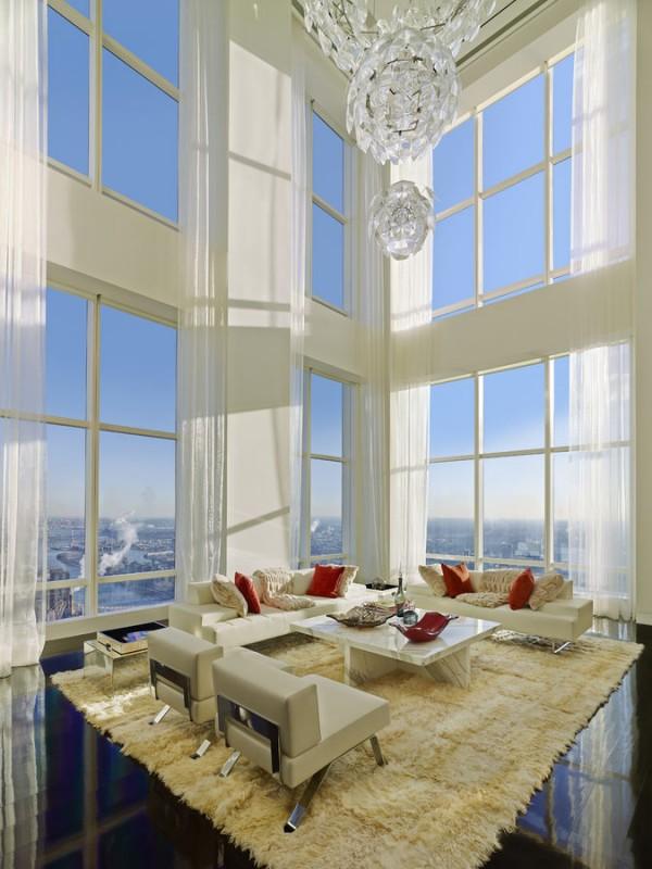 曼哈顿1700平米顶层奢华豪宅欣赏