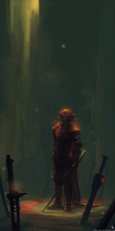 SpoonfishLee概念游戏人物插画