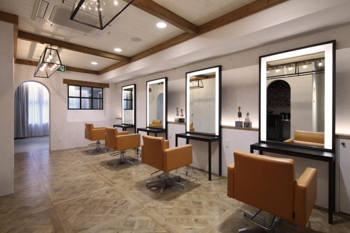 日本冈山barl美发沙龙室内空间设计 设计之家