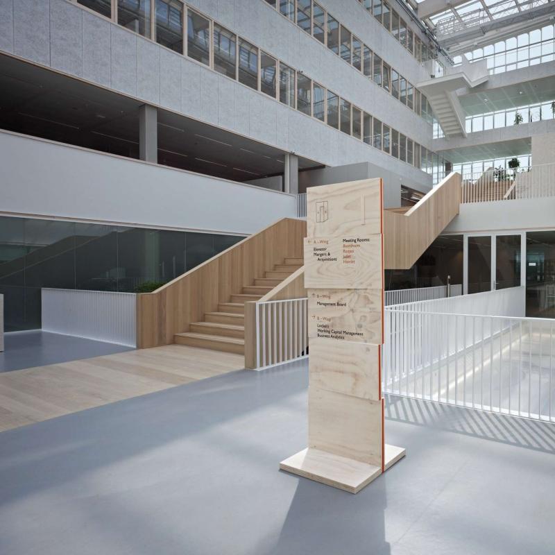 Tnt绿色办公室导视系统设计 设计之家