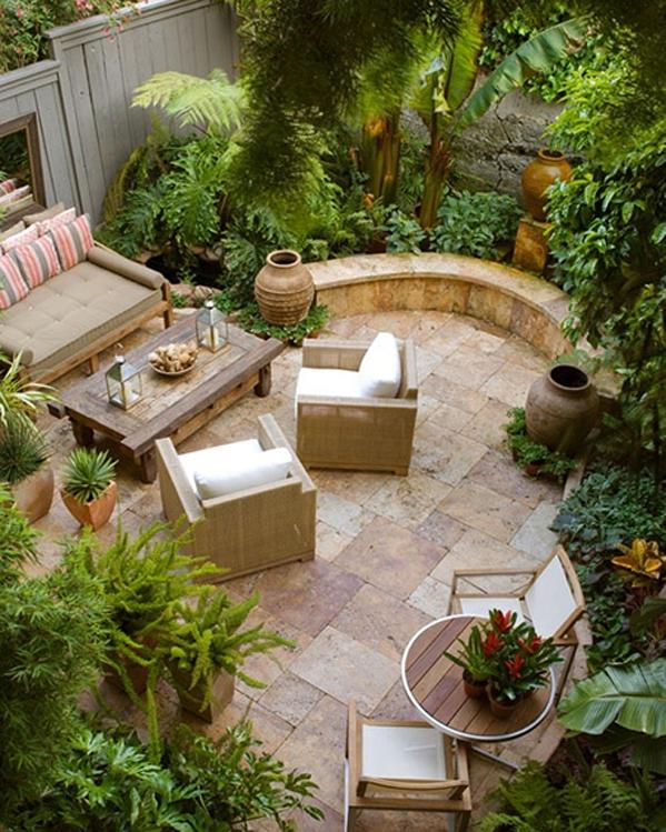 48個創意私家庭院花園設計(6)