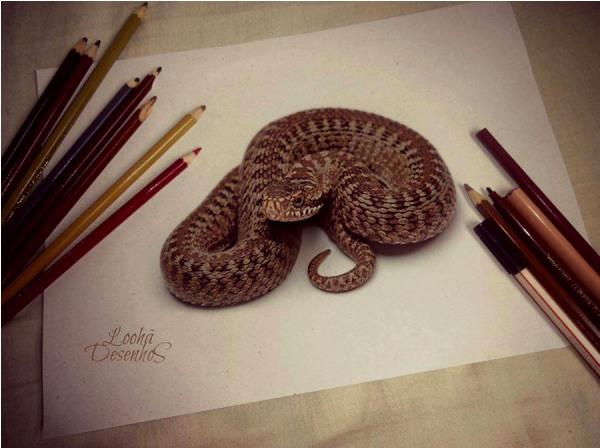 50个超逼真的3D绘画作品欣赏