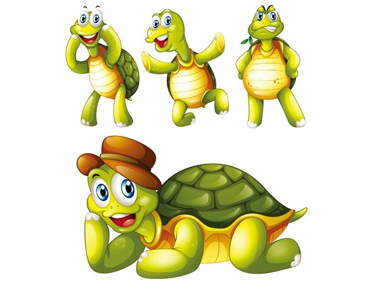 可爱的小乌龟卡通下载/卡通可爱简笔画乌龟/大哭的的