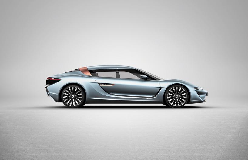 超强性能的Quant e-Sportlimousine电动概念车