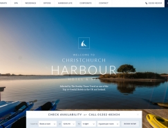 漂亮的国外酒店网站设计欣赏