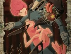 Alejandro Sordi超現實主義插畫作品