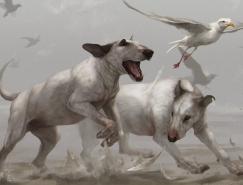 TamberElla唯美精致的动物插画欣赏