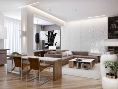 Azovskiy & Pahomova:豪华舒适的现代公寓皇冠新2网欣赏