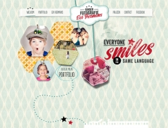 使用柔和的色调:20个国外网页设计欣赏