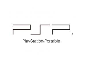 索尼PSP遊戲機logo標誌矢量圖