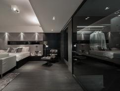 香港Tai Wai 230平米现代灰色公寓设计