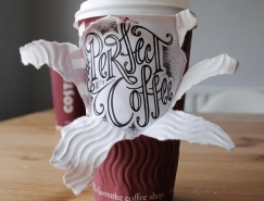 Rob Draper:咖啡杯上的创意艺术字体设计