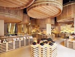 隈研吾(Kengo kuma):茅乃舎酱油东京店铺设计