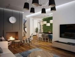 现代时尚的家居装修,体育投注效果图欣赏