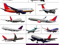 民航客机矢量素材(一)