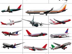 民航客机矢量素材(二)