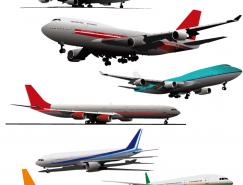 民航客机矢量素材(三)