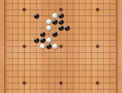 围棋棋盘和棋子PSD素材