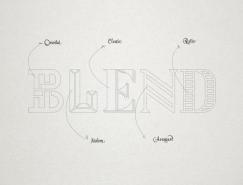 里斯本Blend餐厅视觉形象澳门金沙真人