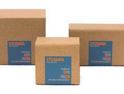 Sylvania Halogen燈泡包裝設計