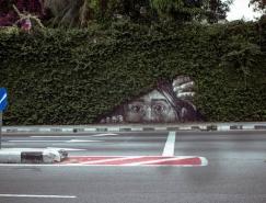 40个创意街头艺术涂鸦作品