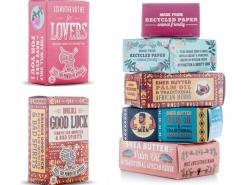 南非复古民族风格的Khulu香皂包装欣赏