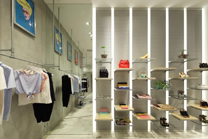 东京KariAng时装店设计