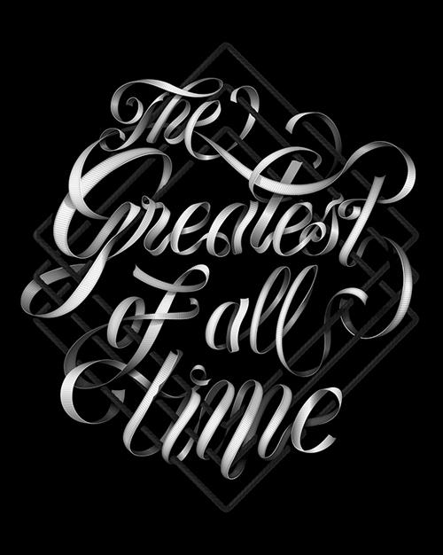 27个国外创意手写字体欣赏