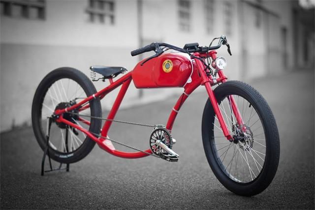 西班牙Oto Cycles复古电动自行车
