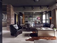 超级英雄主题的工业风格公寓设计欣赏