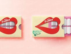 微笑包装:Trident口香糖包装w88手机官网平台首页