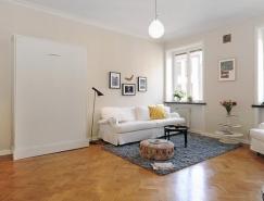 42平米简约清新的北欧小公寓
