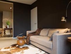 西班牙83平米暗色系温馨公寓